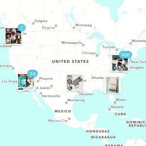 US Map of my Travels